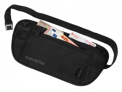 161984 travelite waist pouch rfid black