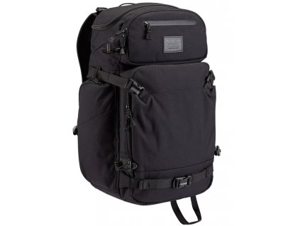 Burton FOCUS PACK TRUE BLACK  + LED svítilna