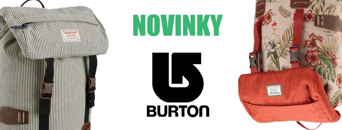 Novinky Burton