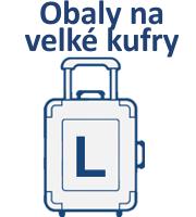 Obaly na velké cestovní kufry