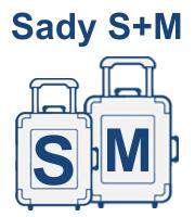 Sady kufrů S,M