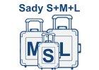 Sada kufrů S,M,L