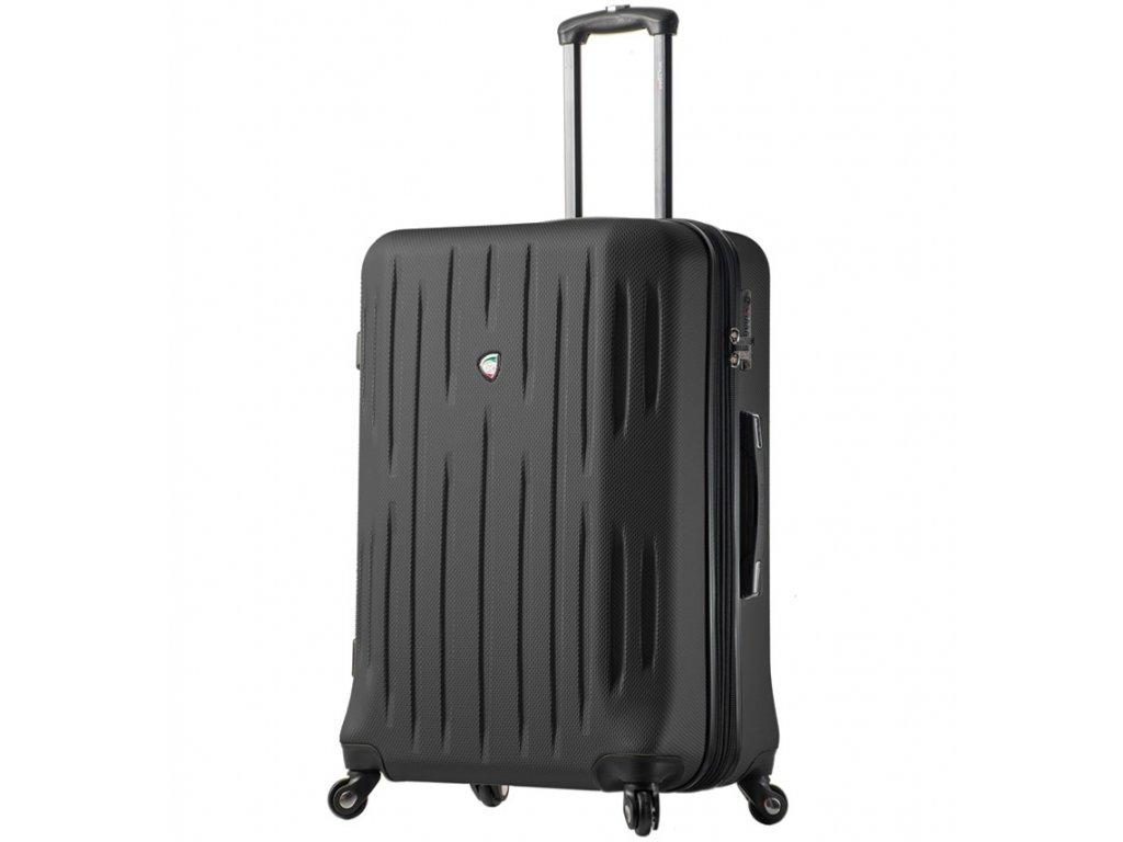 Cestovní kufr MIA TORO M1212/3-XL - černá  + LED svítilna