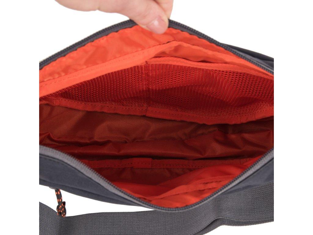 1563b03e4 Mammut Shoulder Bag Round 8 black 0001 - Světbatohů.cz