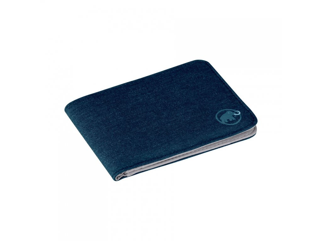 Mammut Flap Wallet Mélange dark chill 5851