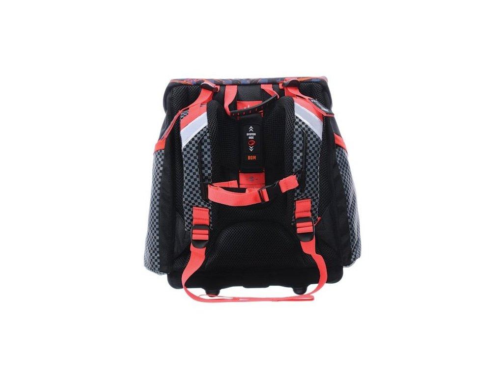 ... Školní aktovka pro prvňáčka kluka Bagmaster A 0715 B BLACK RED ... 3fa7b35491