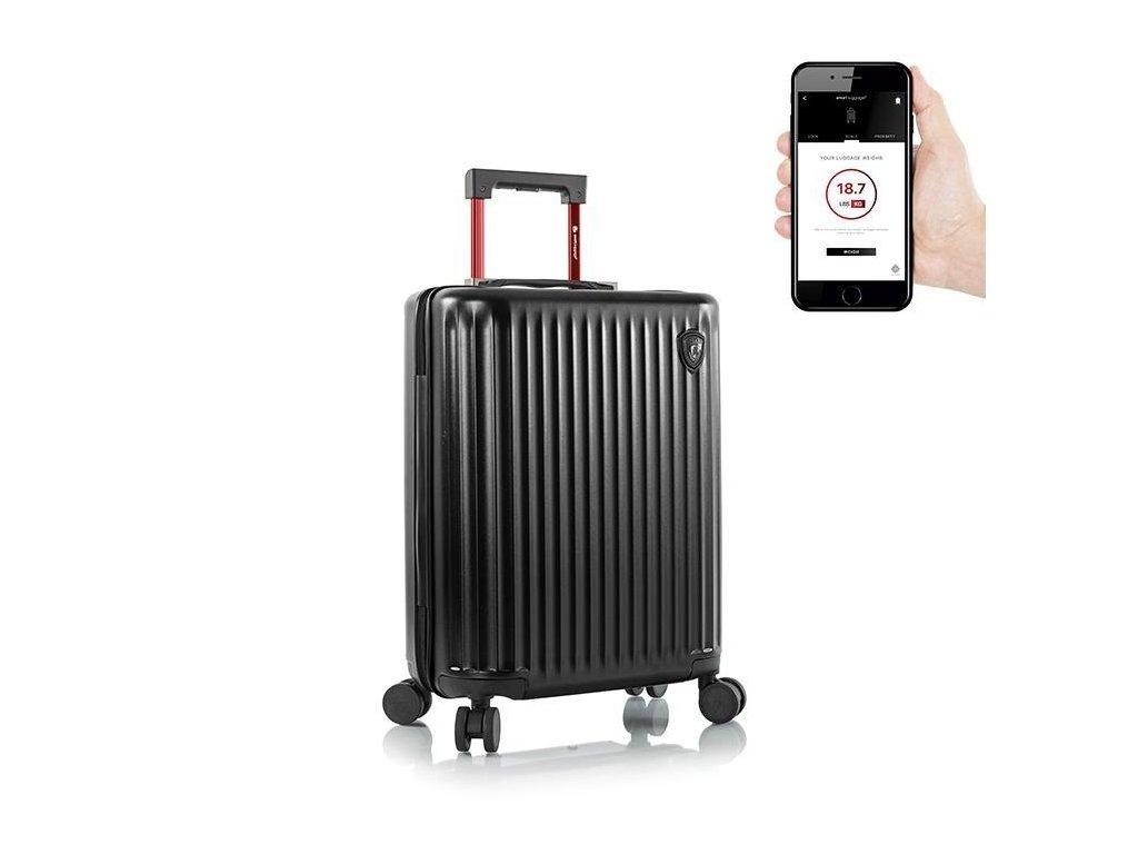 Heys Smart Luggage Airline Aproved S Black  + Sluchátka, myš nebo pouzdro