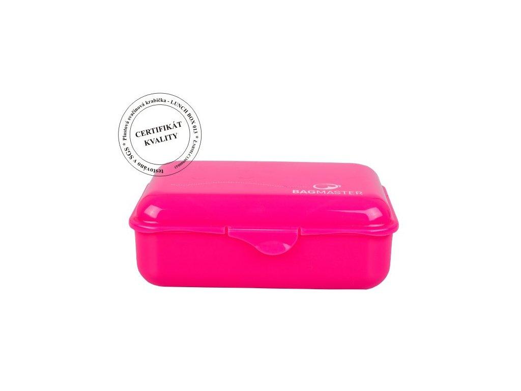 Bagmaster Krabička na svačinu LUNCH BOX 013 A PINK