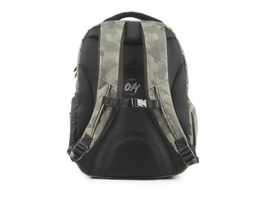 2a14793b77f Studentský batoh OXY Style Army 7-71618 - Světbatohů.cz