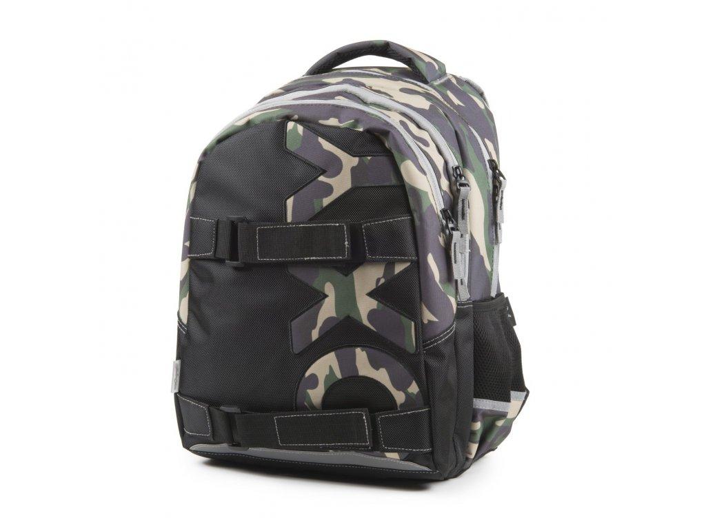 28a99440340 Studentský batoh OXY One Army 7-69918 - Světbatohů.cz