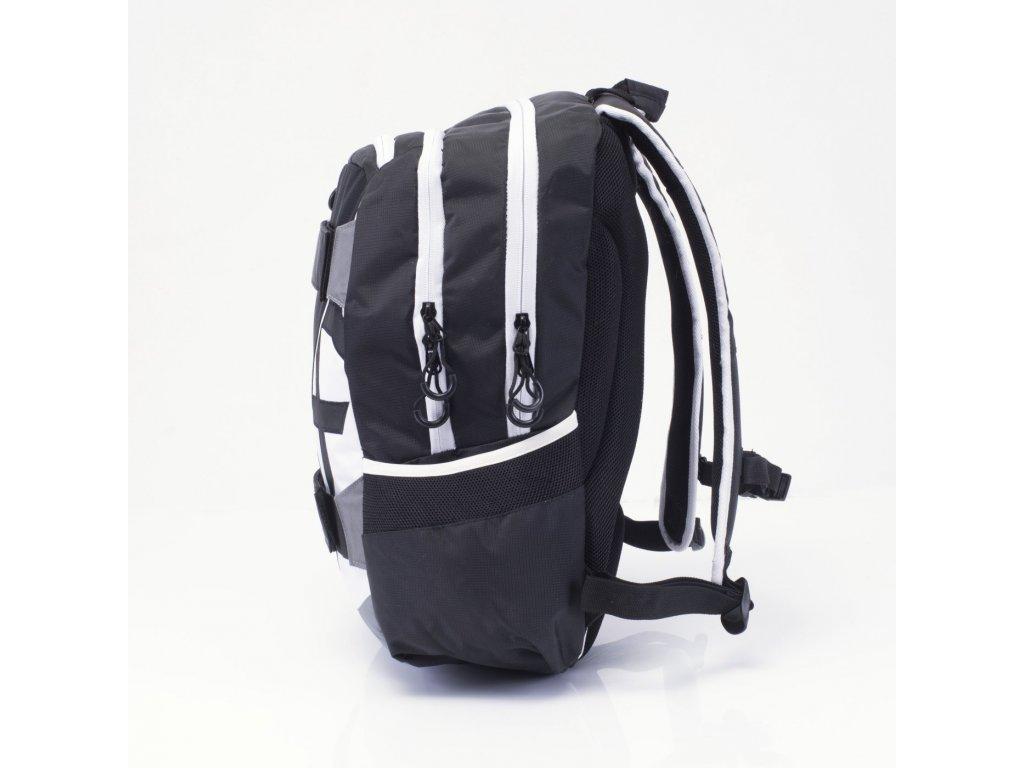 Studentský batoh OXY Sport NEON LINE B W 7-70617 - Světbatohů.cz 115cbc2432