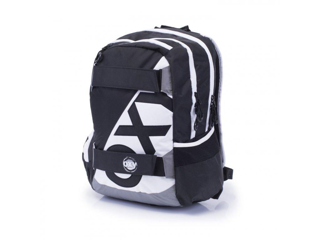 Studentský batoh OXY Sport NEON LINE B W 7-70617 - Světbatohů.cz f2f824f0bf