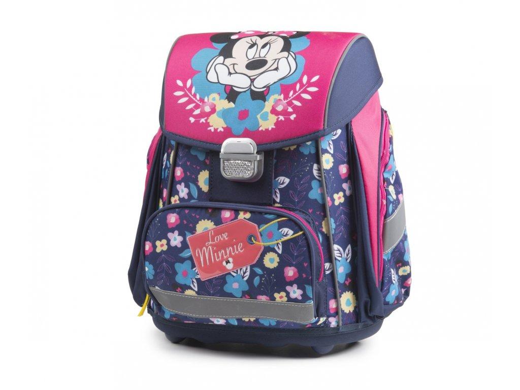 Školní batoh PREMIUM Minnie 3-71918 + LED svítilna 3W - Světbatohů.cz e19f06a068