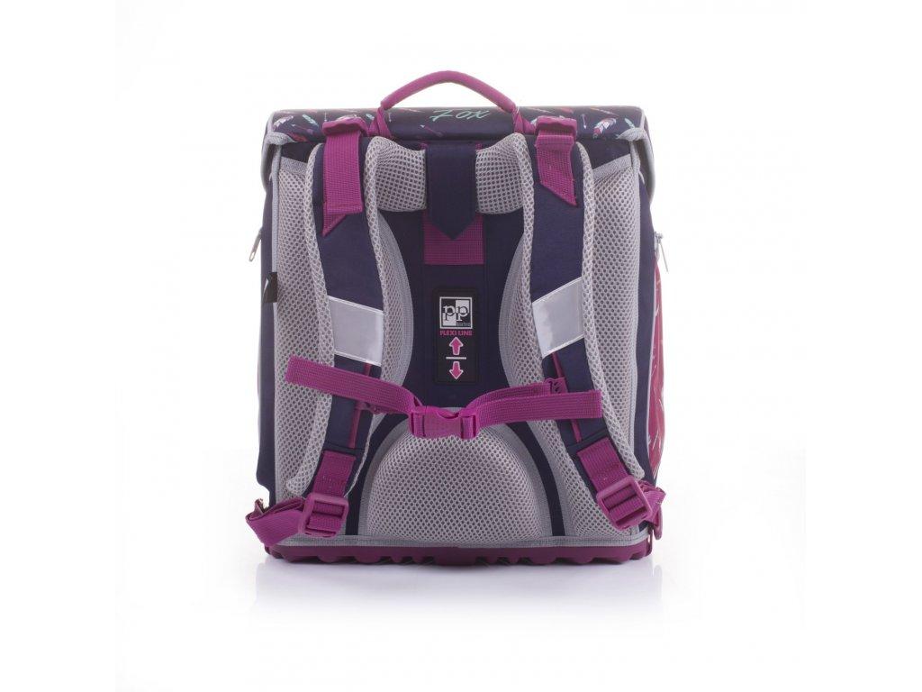 Školní batoh PREMIUM FLEXI Premium Fox 3-40017 + LED svítilna ... 0dfb6551b1