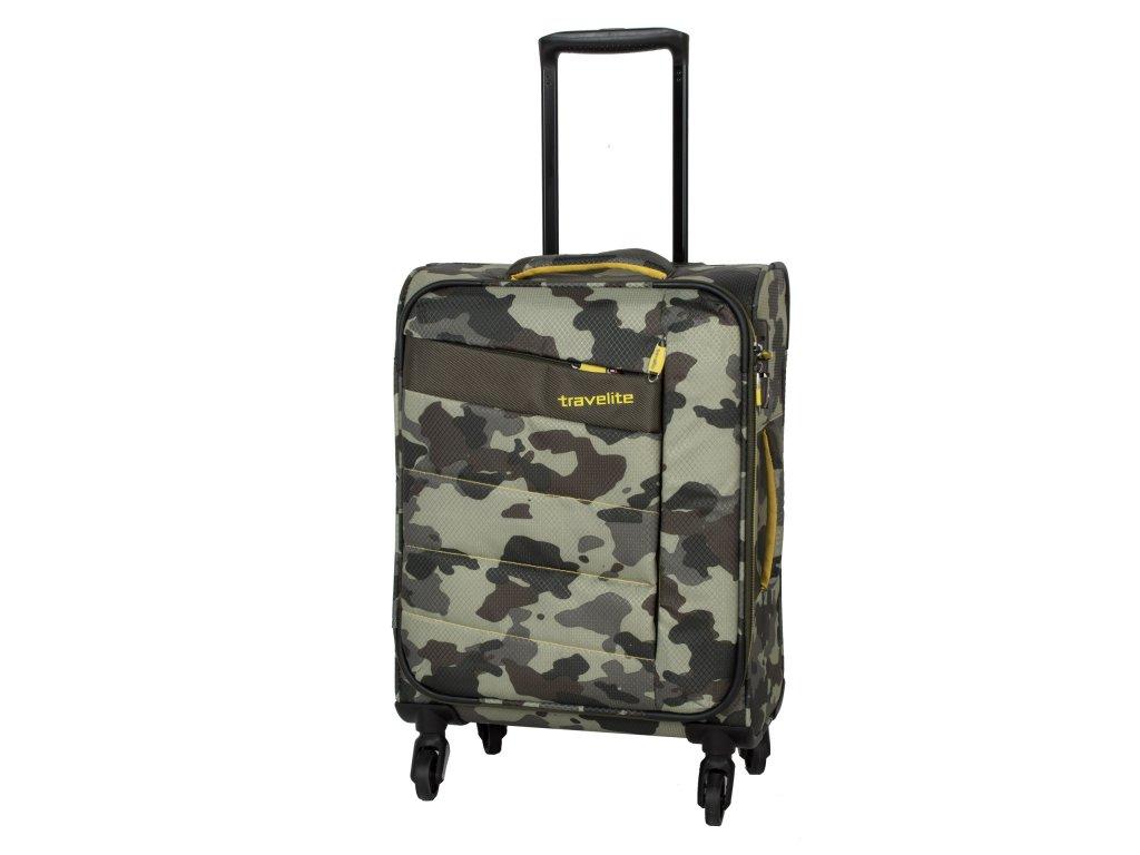 Travelite Kite 4w S Camouflage  + LED svítilna