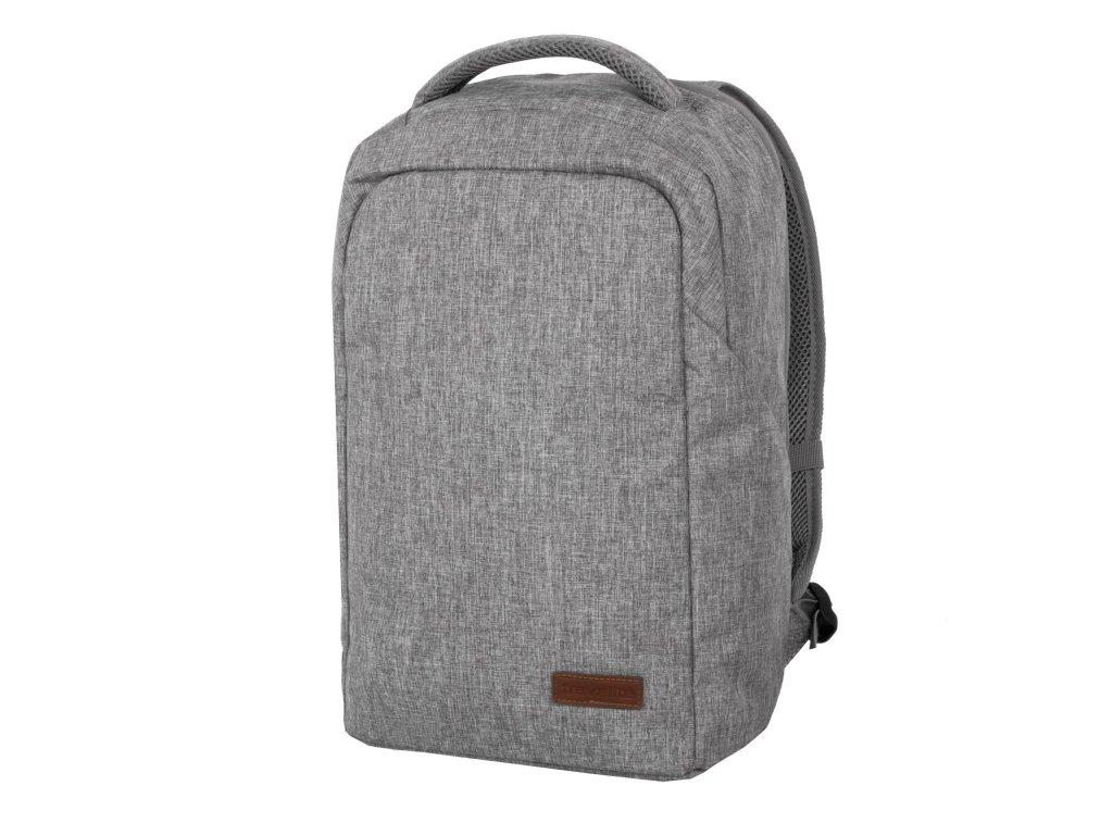 travelite basics safety backpack light grey 5