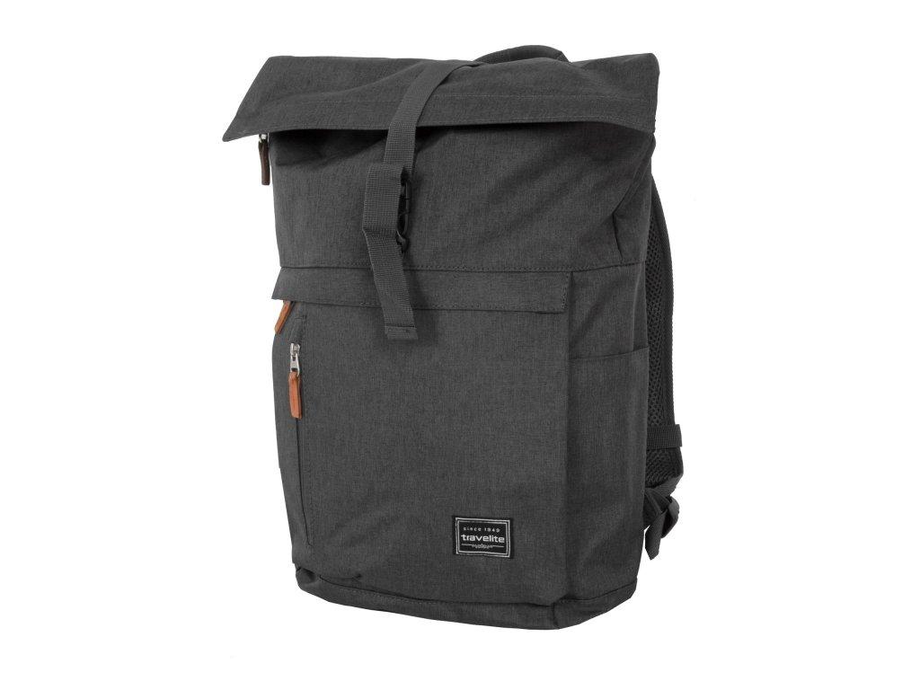 travelite basics roll up backpack anthracite 5