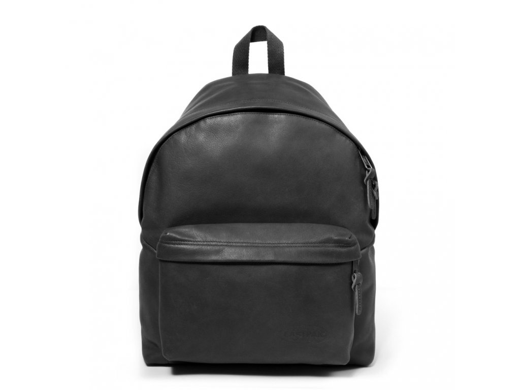 EASTPAK PADDED PAK'R Black Ink Leather  + LED svítilna