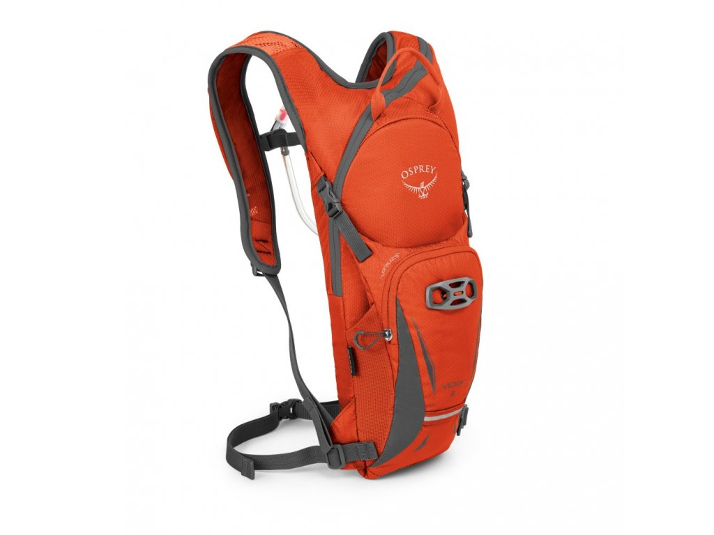 Osprey Viper 3 blaze orange  + LED svítilna