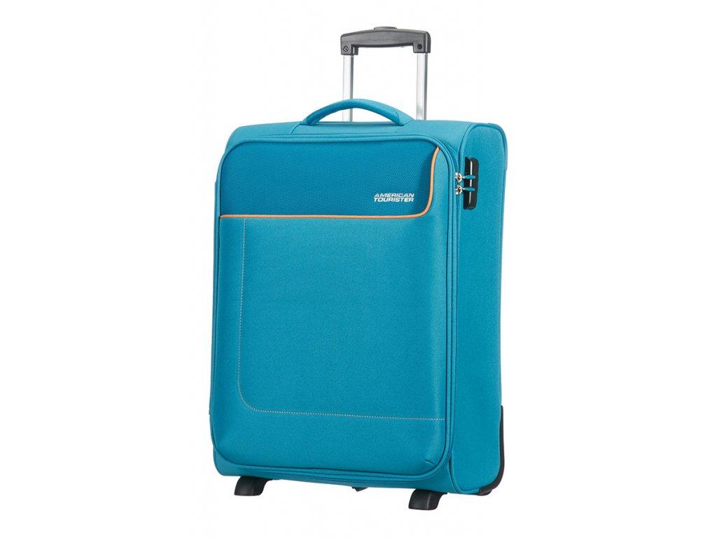 Modré textilní kufry - Světbatohů.cz a6b06a6ad8