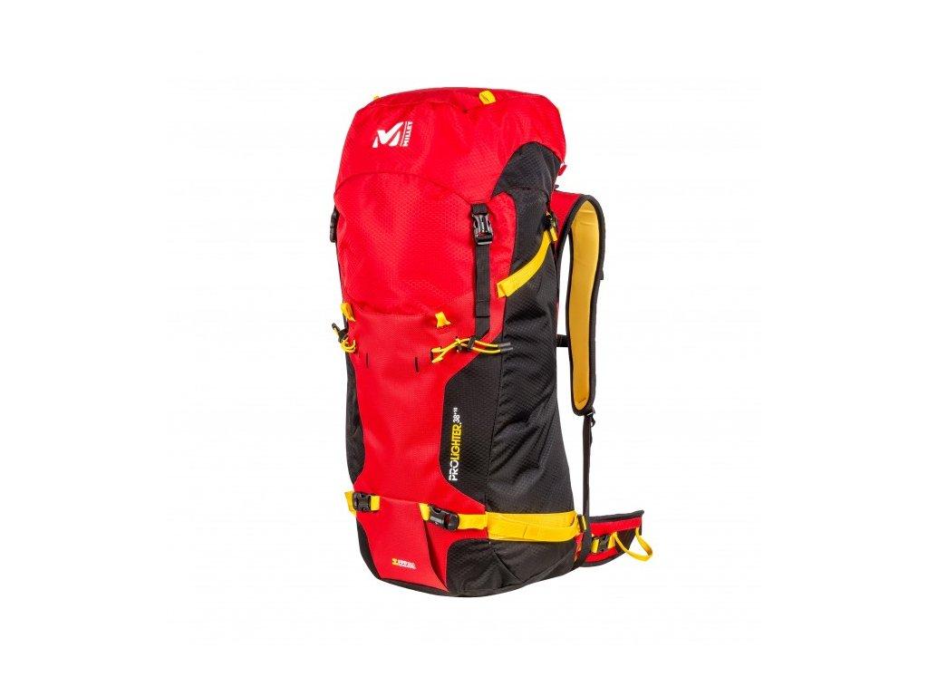 Millet PROLIGHTER 38+10 red - batoh + LED svítilna - Světbatohů.cz 66f2dff964