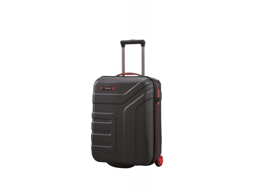 Travelite Vector 2w S Black  + LED svítilna