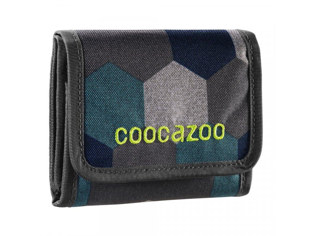 Peněženka CoocaZoo CashDash, Blue Geometric M