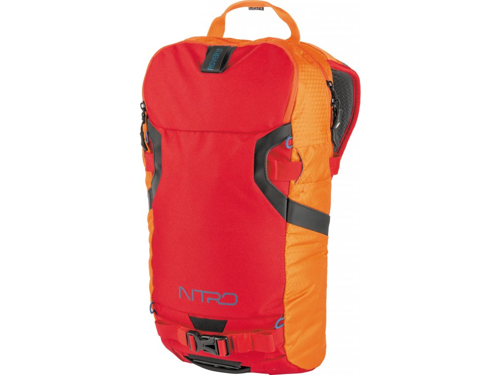 NITRO batoh ROVER 14 vulcan  + LED svítilna
