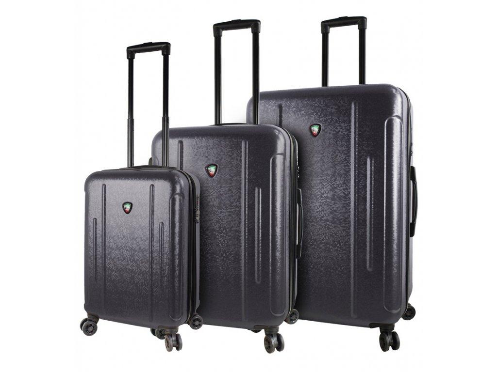 Sada cestovních kufrů MIA TORO M1239/3 - černá  + Sluchátka, myš nebo pouzdro