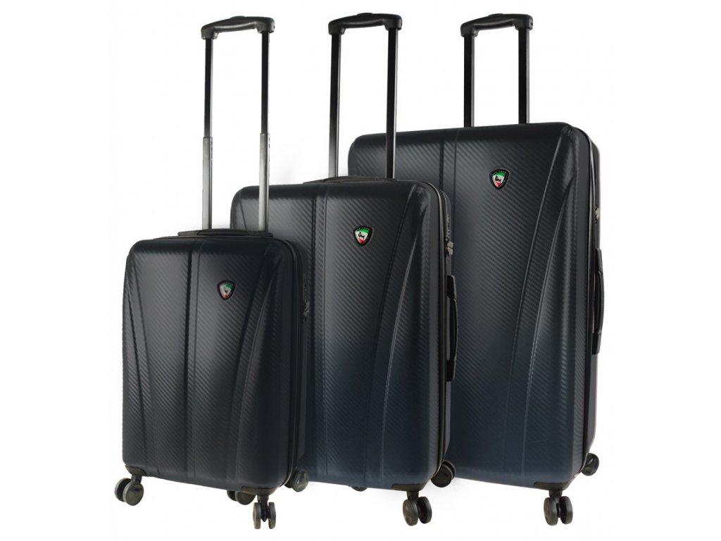 Sada cestovních kufrů MIA TORO M1238/3 - černá  + Sluchátka, myš nebo pouzdro