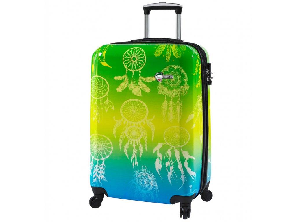 Kabinové zavazadlo MIA TORO M1091/3-S  + LED svítilna