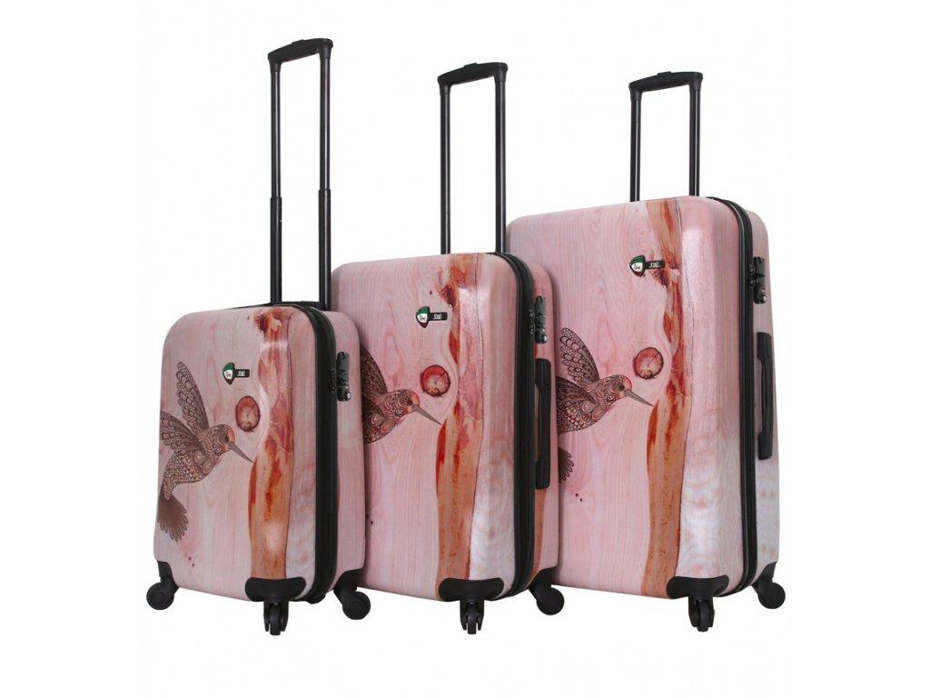 Sada cestovních kufrů MIA TORO M1338/3  + Sluchátka, myš nebo pouzdro