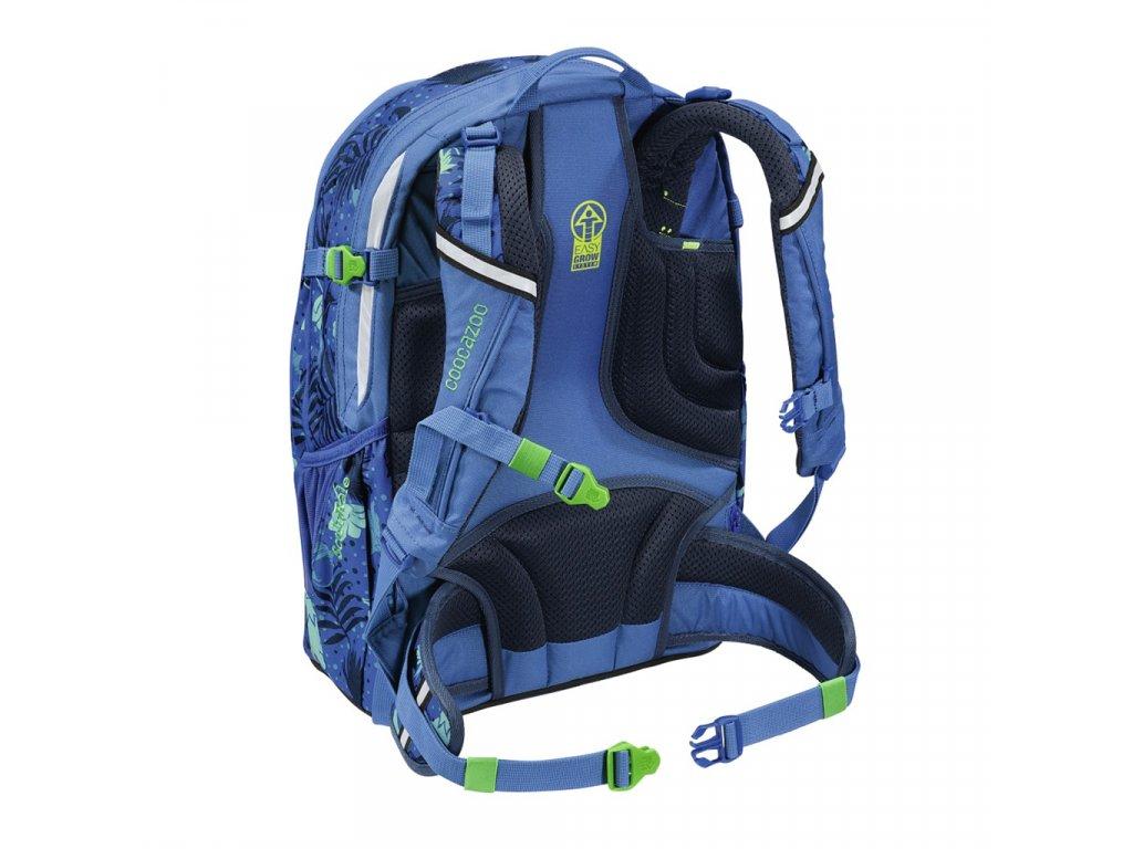 Školní batoh Coocazoo ScaleRale, Tropical Blue, certifikát AGR