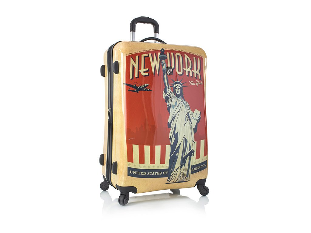 Heys Vintage Traveler L New York  + LED svítilna