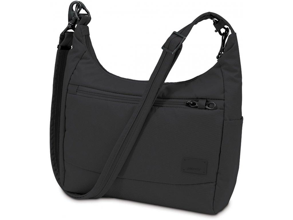 PACSAFE taška CITYSAFE CS100 black  + 5 % sleva po registraci + LED svítilna