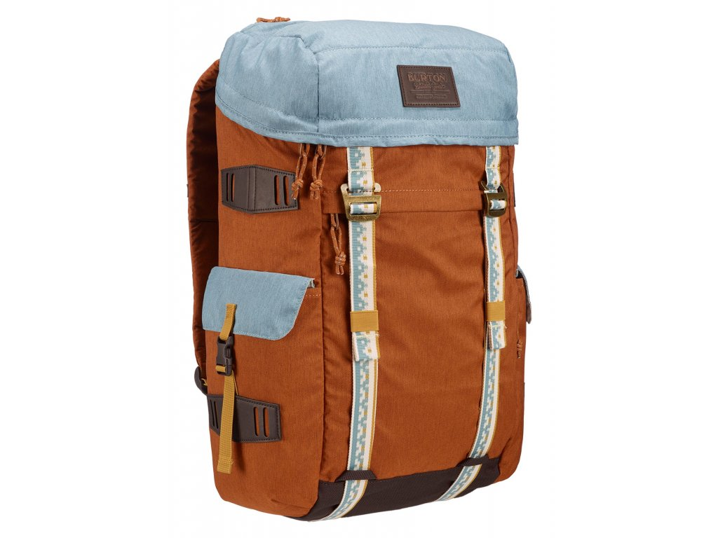 Burton ANNEX CARAMEL CAFE HEATHER 28 l  + LED svítilna