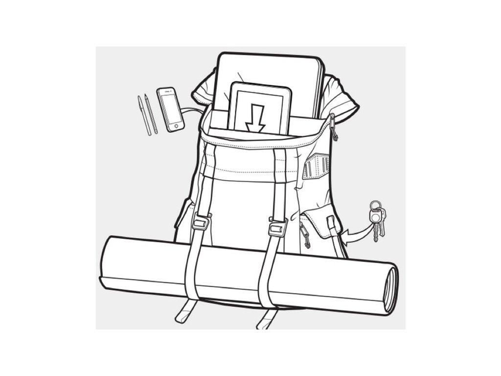 SL1310 · burton annex backpack reverse grande · Burton ANNEX HYDRO TRIP RIP  CRDRA 28 l + LED svítilna ... a3620ddb40