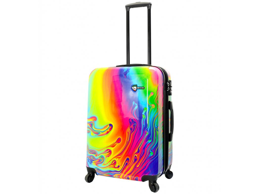 Cestovní kufr MIA TORO M1533/3-M  + LED svítilna