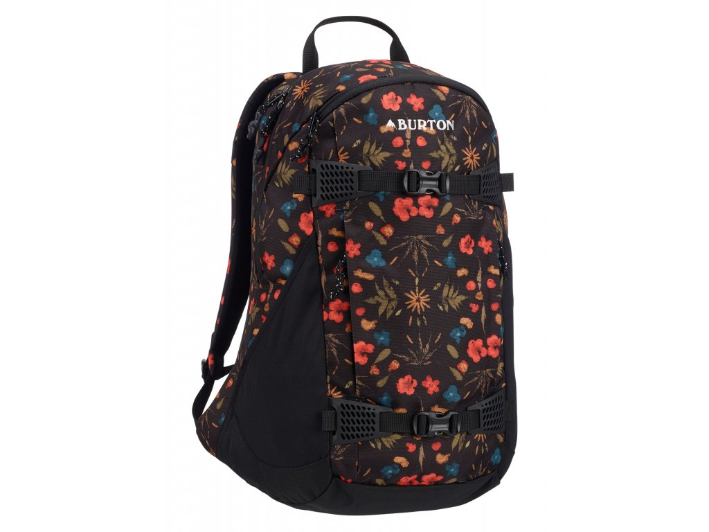 Burton WMS DAY HIKER BLACK FRESH PRESSED 25 l  + LED svítilna
