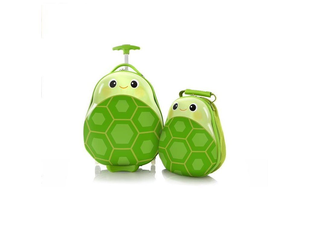Heys Travel Tots Kids Turtle  + LED svítilna