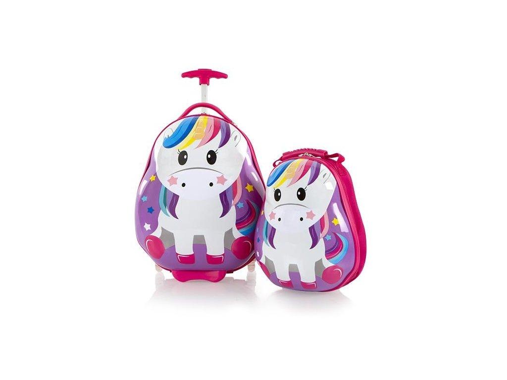Heys Travel Tots Kids Unicorn  + LED svítilna