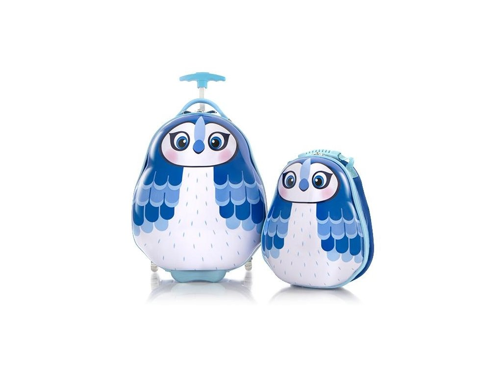 Heys Travel Tots Kids Blue Jay  + LED svítilna