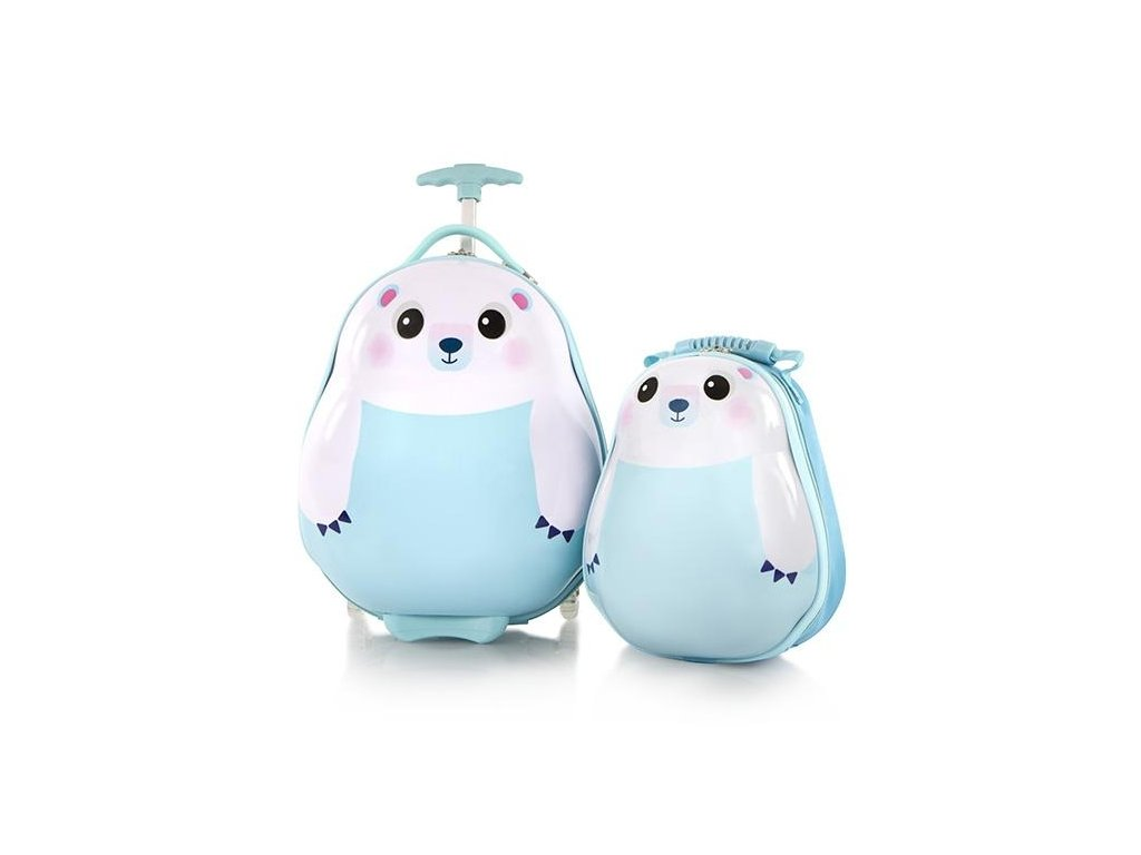 Heys Travel Tots Kids Polar Bear  + LED svítilna