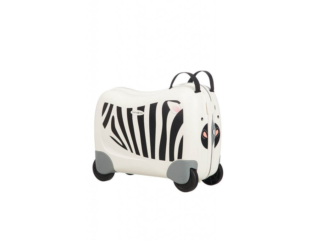 Samsonite Dream Rider Spinner Zebra Zeno  + LED svítilna