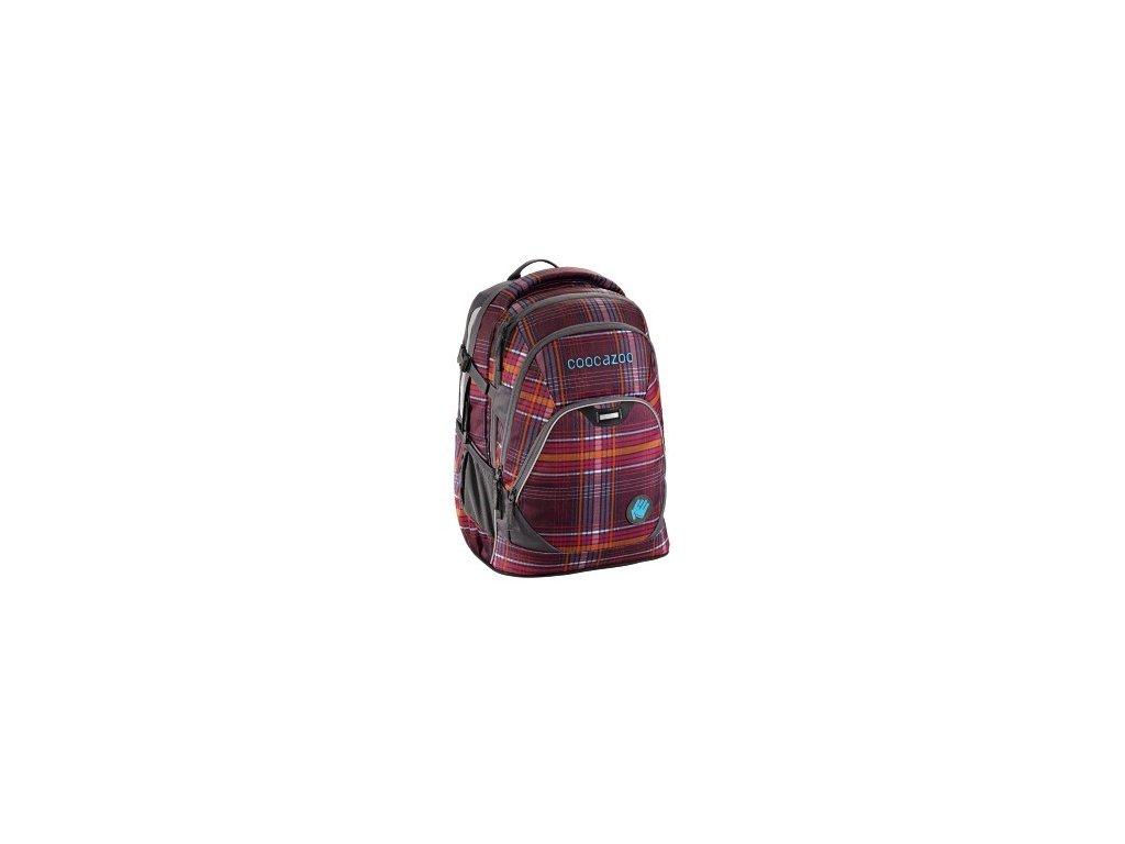 Školní batoh Coocazoo EvverClevver2, Walk The Line Purple  + LED svítilna