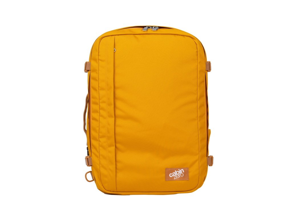 CabinZero Classic Plus 42L Orange Chill  + LED svítilna