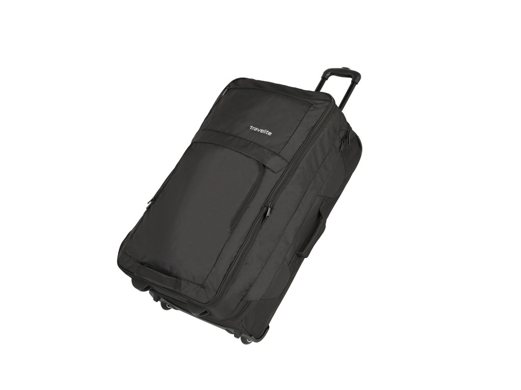 Travelite Basics Doubledecker Black  + LED svítilna