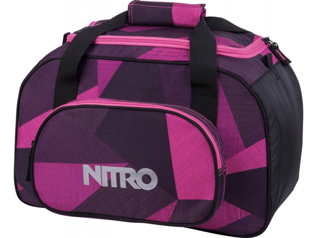 NITRO taška DUFFLE BAG XS fragments purple