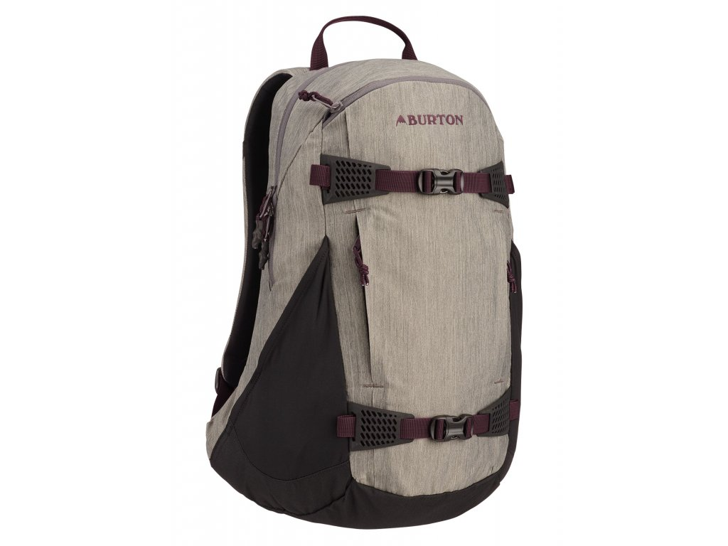 Burton WMS DAY HIKER CASTLEROCK HEATHER 25 l  + LED svítilna