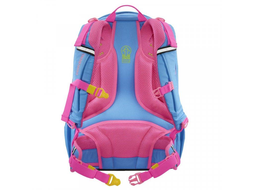 Školní batoh coocazoo ScaleRale, MeshFlash Neonpink, certifikát AGR